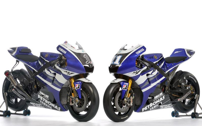 Yamaha unveils 2011 factory yzr m1 mcn for Yamaha m1 for sale