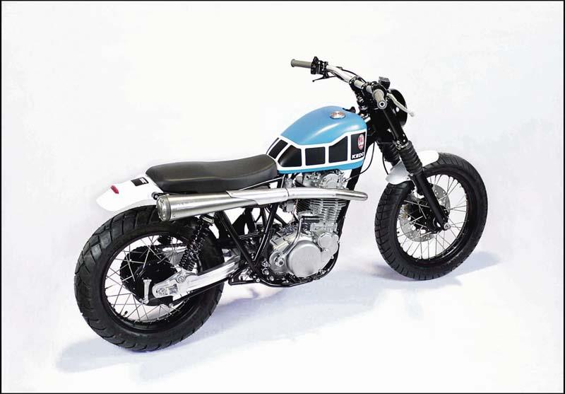 Yamaha Sr500 Given Dirt Track Style Mcn