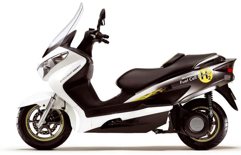 Suzuki's fuel cell scooter gets mass-production approval - but