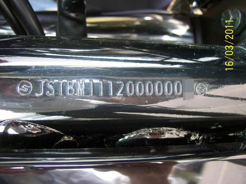 stolen bike spotters guide – time to check those chassis numbers