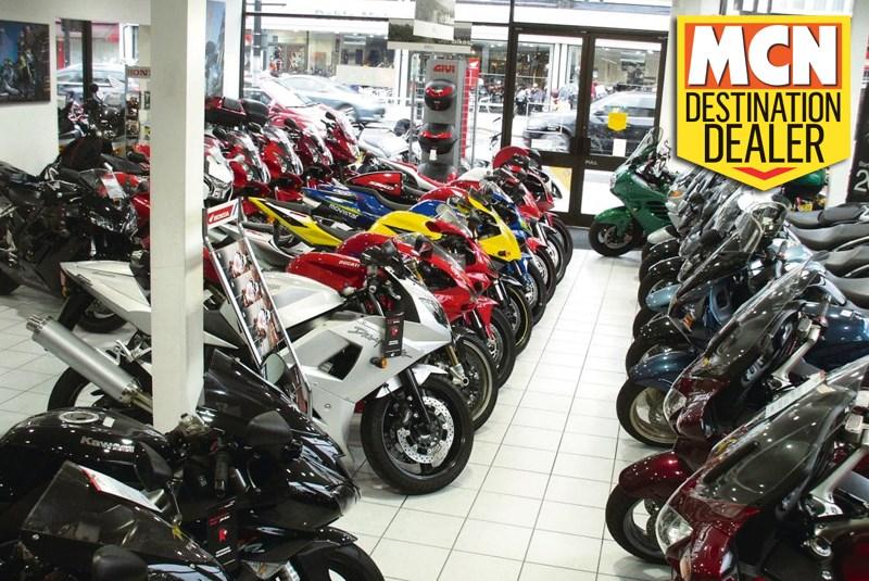 Destination dealer doble motorcycles mcn for Honda motorcycle dealer dallas