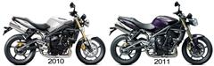 New Triumph Street Triple revealed