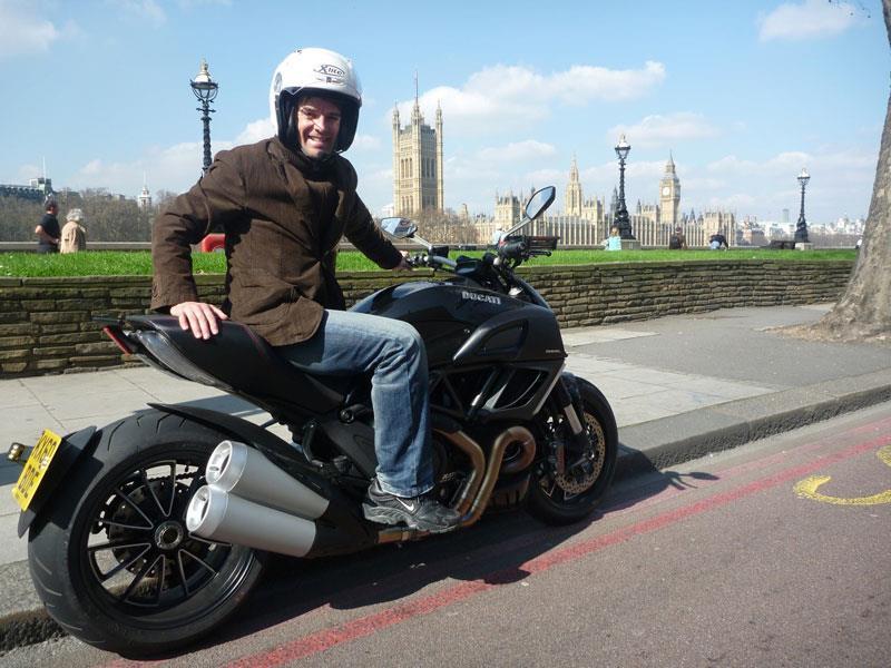 Ducati Diavel London