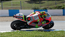Rossi completes first test onboard Ducati Desmosedici GP12