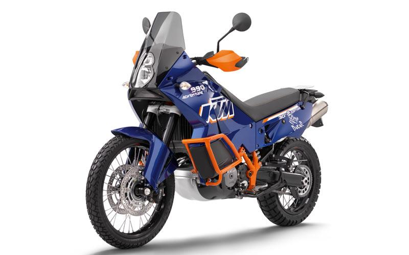 new 'dakar edition' of ktm 990 adventure launched | mcn