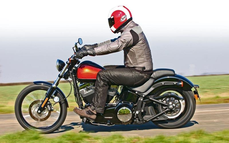 HARLEY-DAVIDSON BLACKLINE (2011-2012) Review | MCN