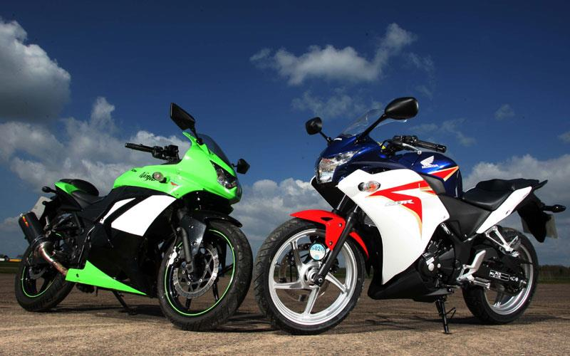 Honda Cbr 250 V Kawasaki Ninja 250r Will Either Go Ton