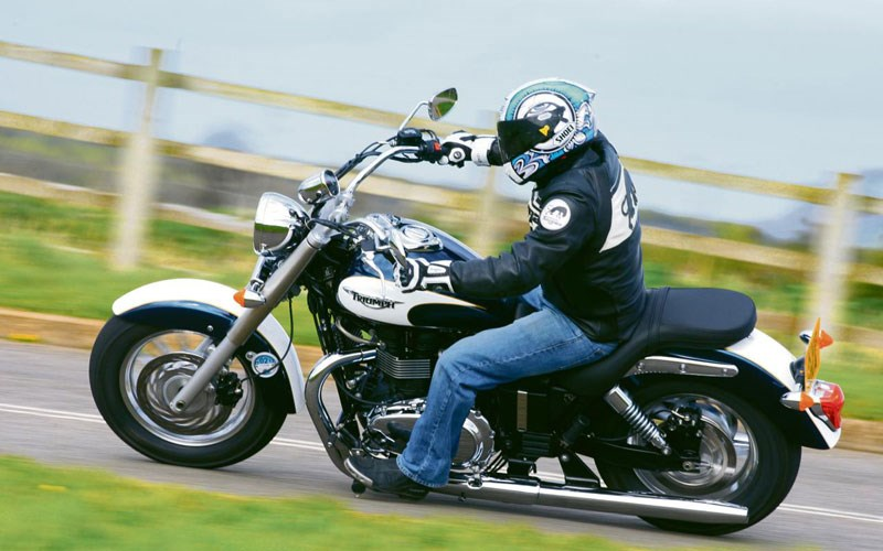 Pleasant Triumph Bonneville America First Ride Caraccident5 Cool Chair Designs And Ideas Caraccident5Info