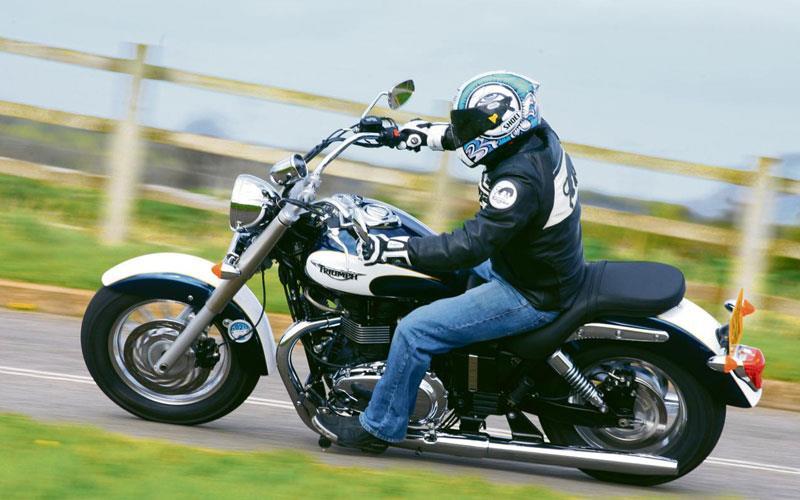 Triumph Bonneville America First Ride