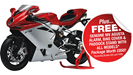 MV Agusta offers £850 of kit with new bikes