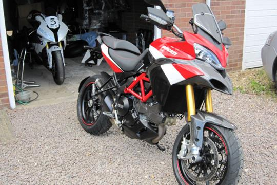 ducati multistrada 1200 s pikes peak special edition first