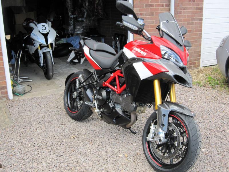 Ducati Multistrada S Pikes Peak Special Edition