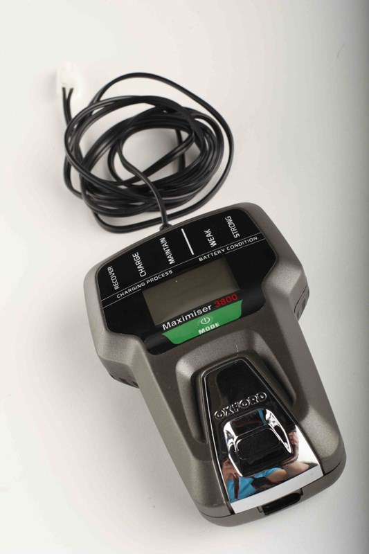 oxford oximiser 900 battery charger instructions