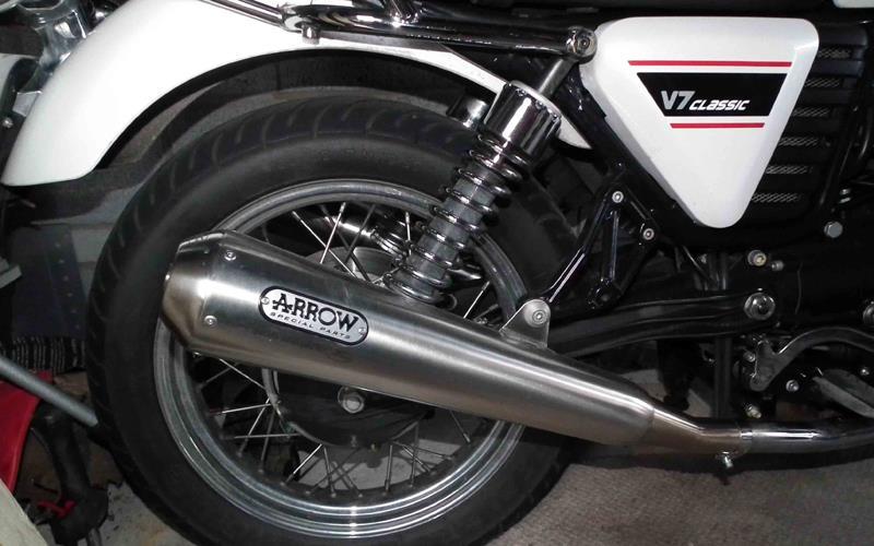 Exhaust review: Arrow exhaust for Moto Guzzi V7 Classic