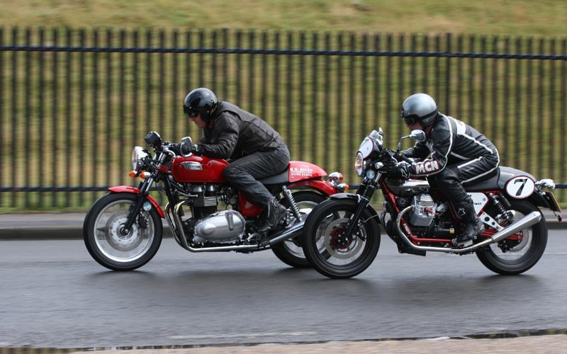 New Moto Guzzi v7 Racer Takes