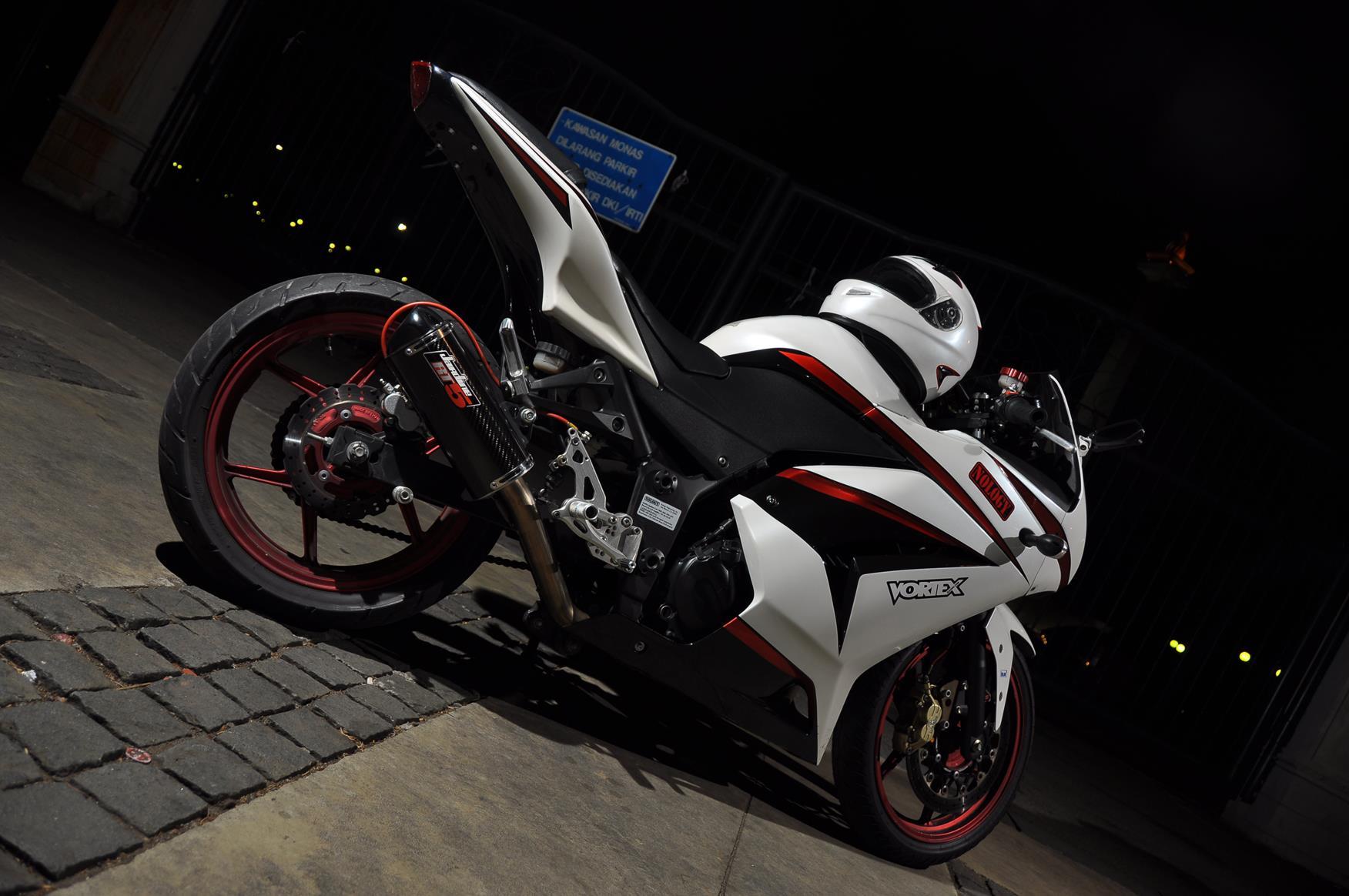 My Custom Kawasaki Ninja 250R