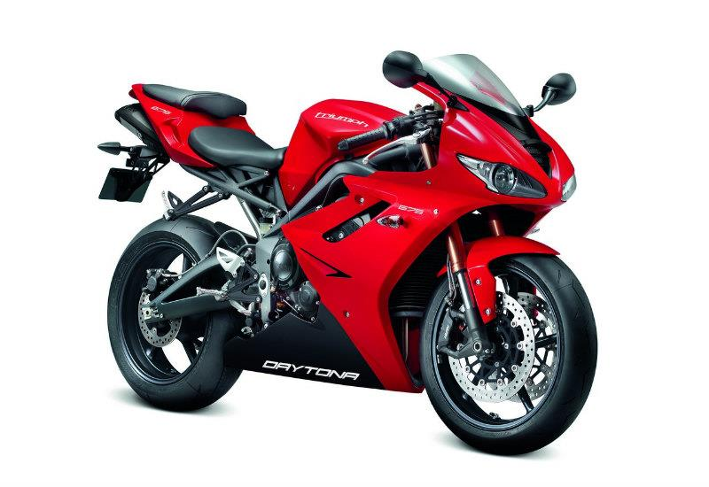 2012 triumph daytona 675 gets minor makeover mcn. Black Bedroom Furniture Sets. Home Design Ideas