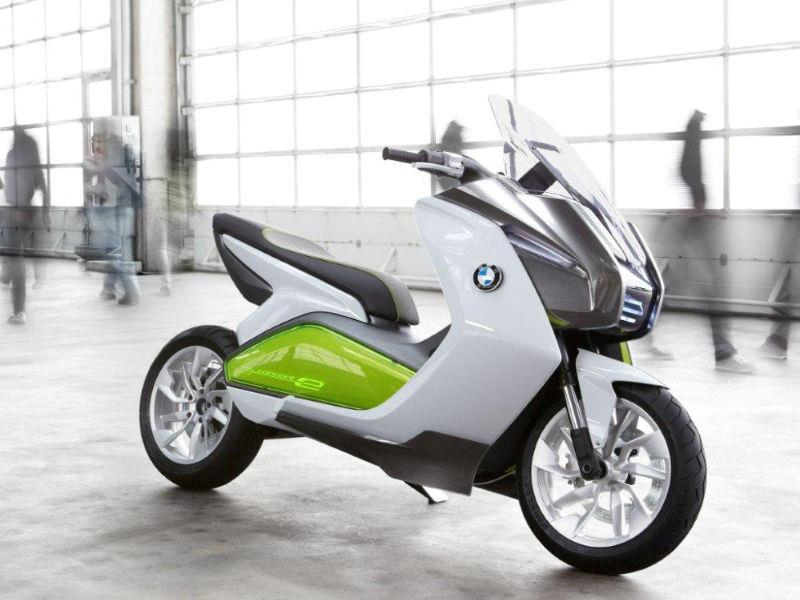 bmw unveils electric scooter mcn. Black Bedroom Furniture Sets. Home Design Ideas