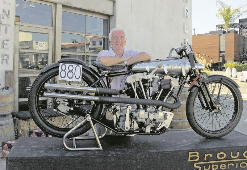Britain S Own Burt Munro Breaks Speed Record Mcn