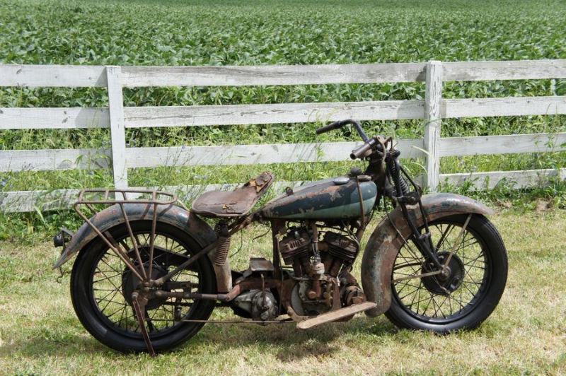 Classic Indians Harleys Shotguns And Cider Mills In Ohios Ultimate Barn Find