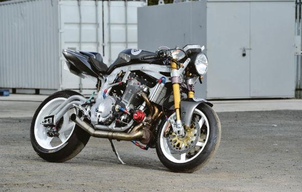 the bike that guy built: a 500bhp cafe racer | mcn