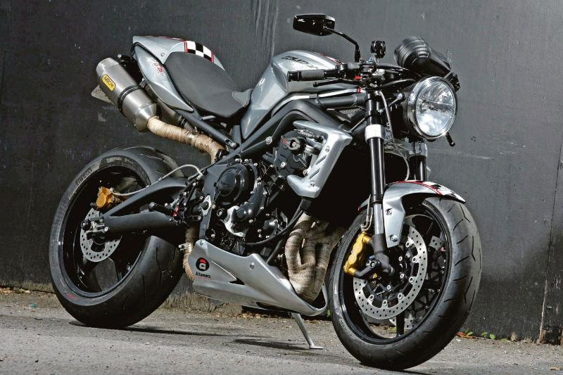 Ace Cafe's 10th anniversary Triumph Street Triple R cafe racer | MCN