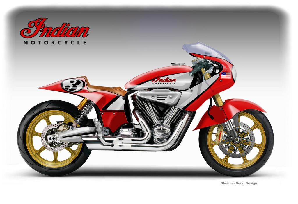 indian sunoco classic racing concept   mcn