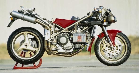 Ducati's L-twin