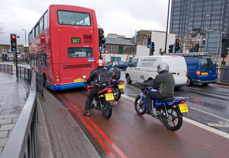 Image result for motorcycle and bus