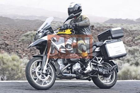 Water Cooled Bmw R1250gs Spied