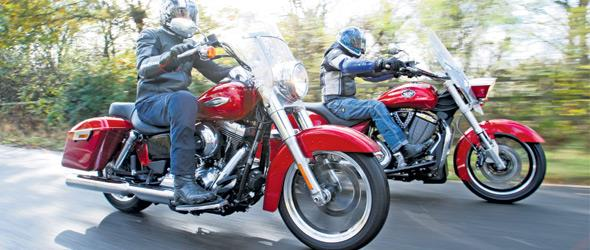 Harley Switchback vs. Victory Cross Roads Tour