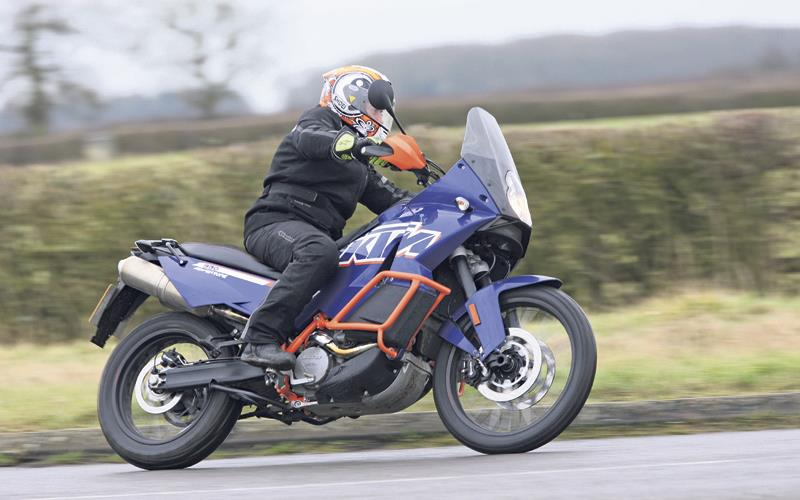 2012 KTM 990 Adventure first ride | MCN
