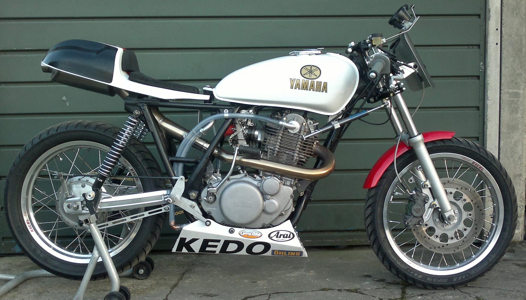 Yamaha Sr  Cafe Racer For Sale