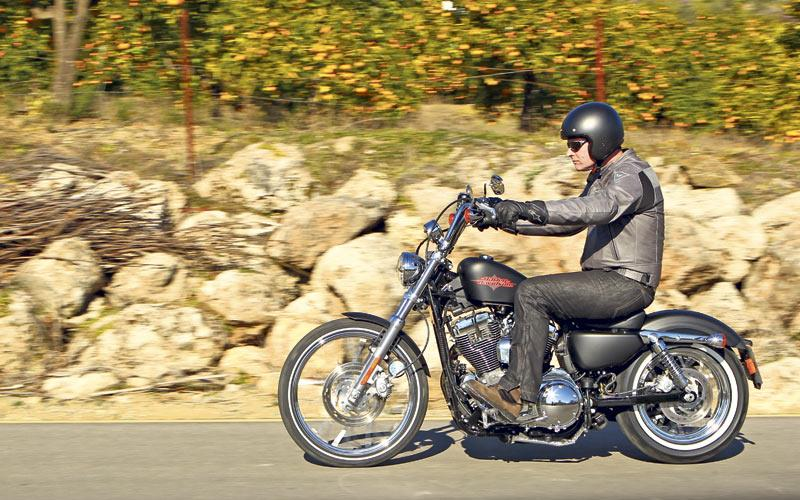 Harley Davidson Sportster 1200 2012 On Review
