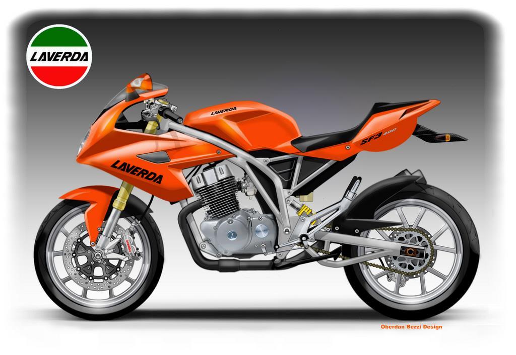 Laverda SF3 400 concept | MCN