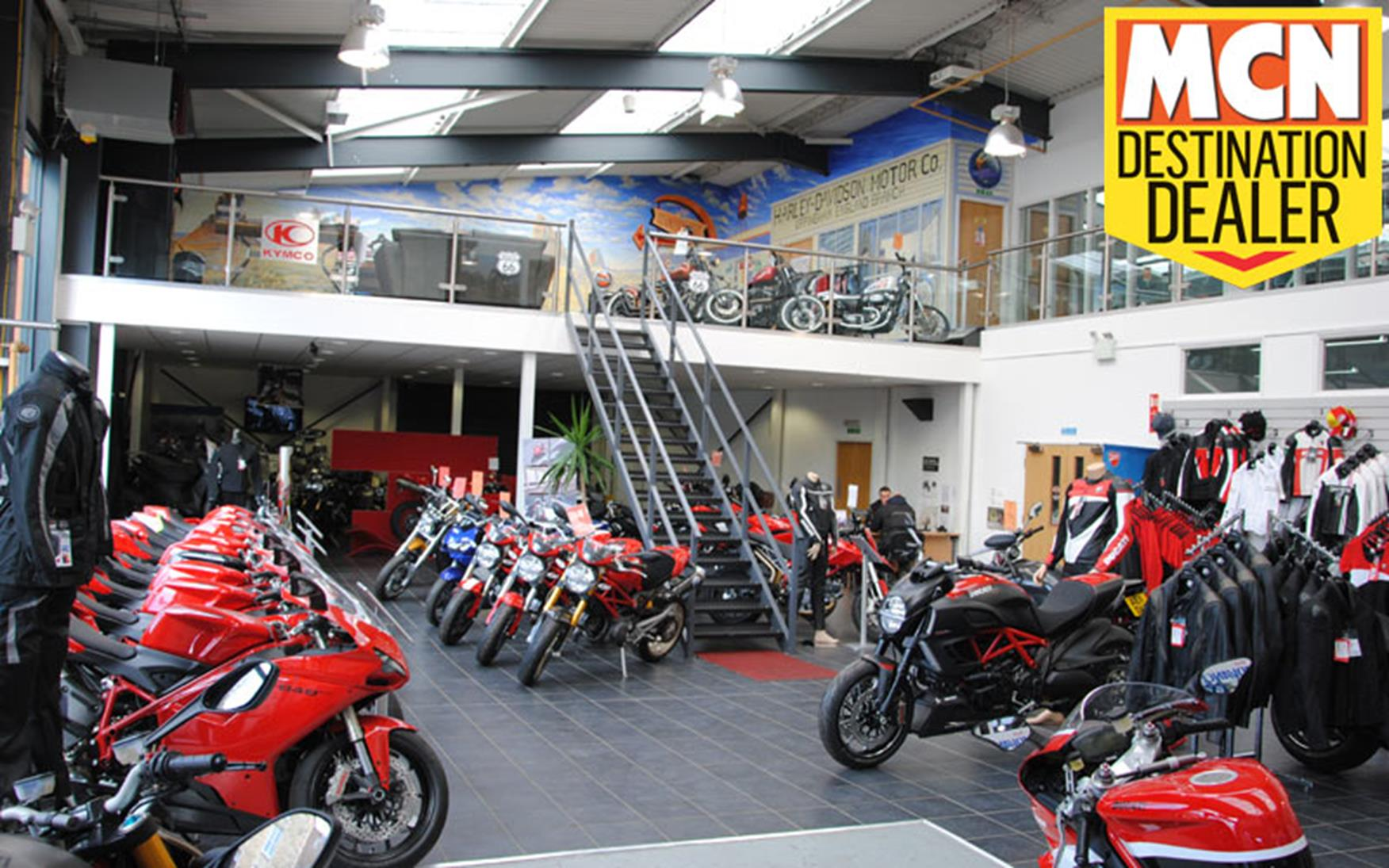 New England Honda Motorcycle Dealers