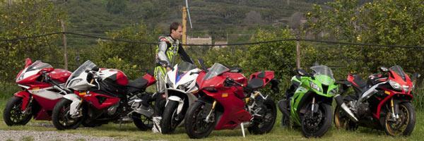 Ducati Panigale vs rivals