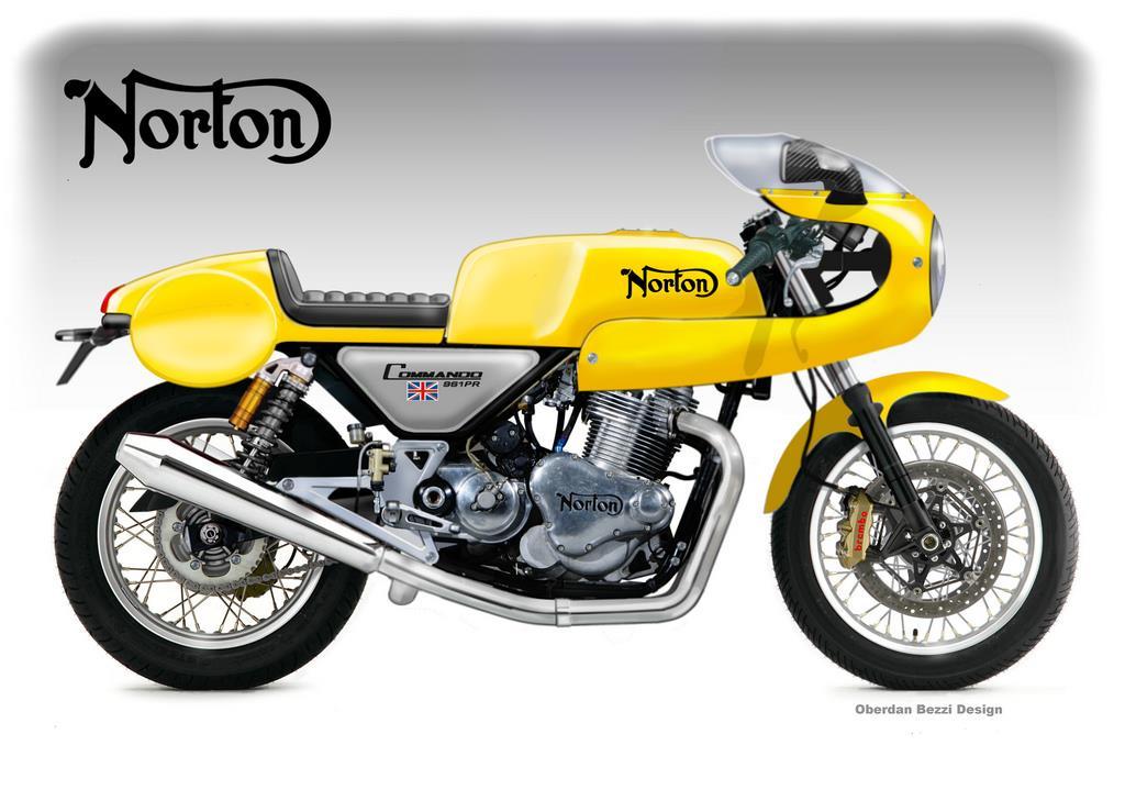 Norton Commando 961 PR Concept