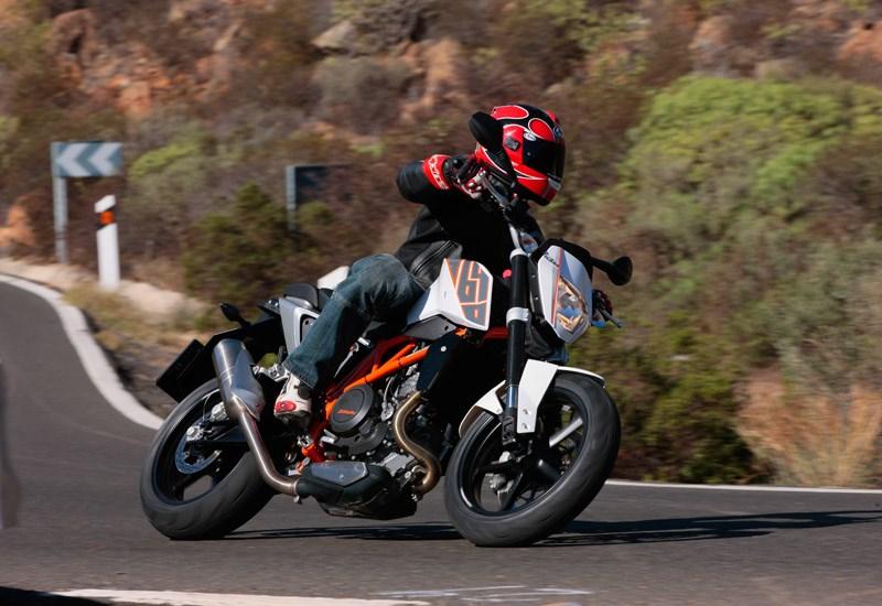 ktm 690 duke 2012 2015 review speed specs prices mcn ktm 690 duke 2012 2015 review speed