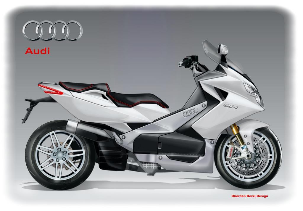 Audi Sc 1 Super Scooter Concept Mcn