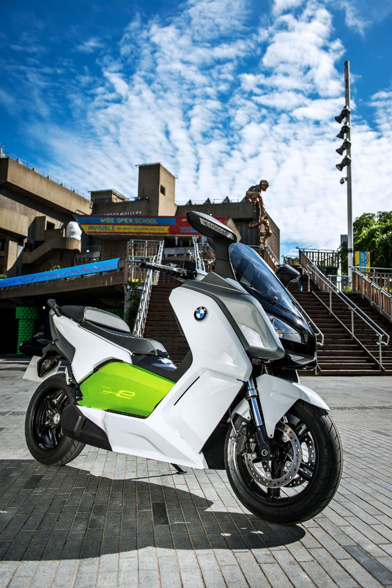 bmw launches e scooter at london olympics mcn. Black Bedroom Furniture Sets. Home Design Ideas
