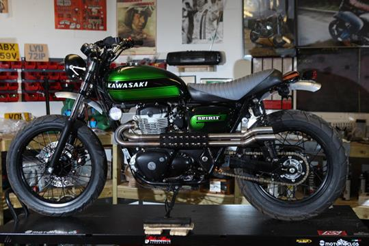Picture Gallery Kawasaki W800 Spirit