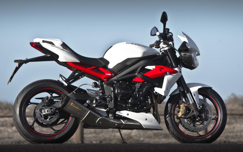 TRIUMPH STREET TRIPLE R 2013 On