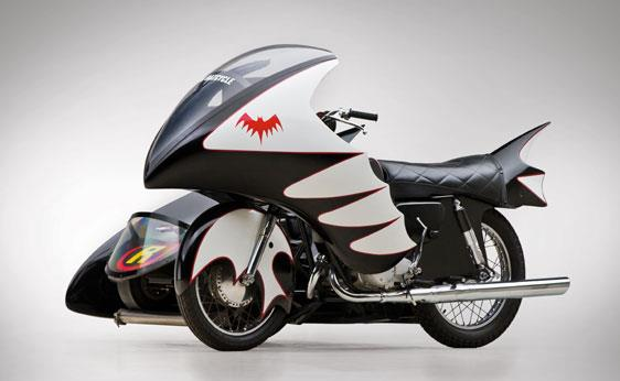 Evel Knievel S Movie Bike Up For Auction: Evel Knievel's Last Bike And 'Batcycle' Up For Auction