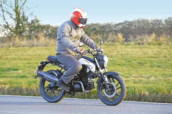 youth experiment: kymco k-pipe | mcn