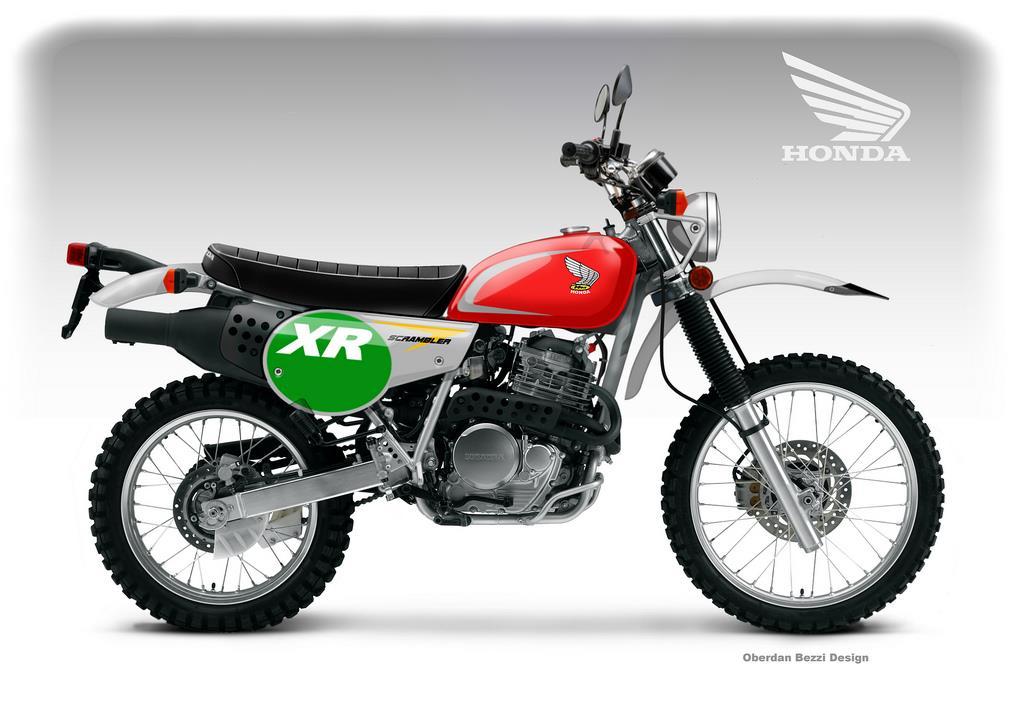 Honda Xr650L For Sale >> Honda XR 650 Scrambler Classic Concept | MCN