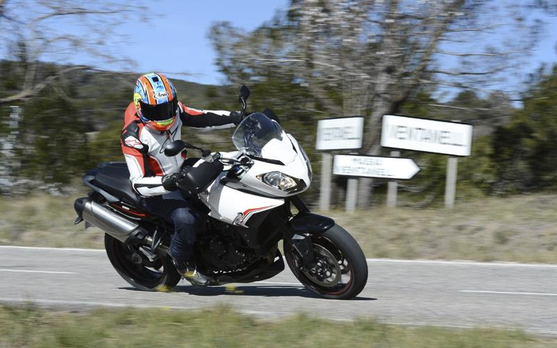 Triumph Tiger 1050 Sport 2013 On Motorcycle Review Mcn
