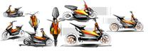 KTM shows electric scooter concept