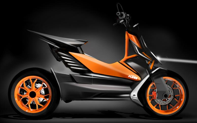 Ktm Scooty Price >> Ktm Shows Electric Scooter Concept Mcn