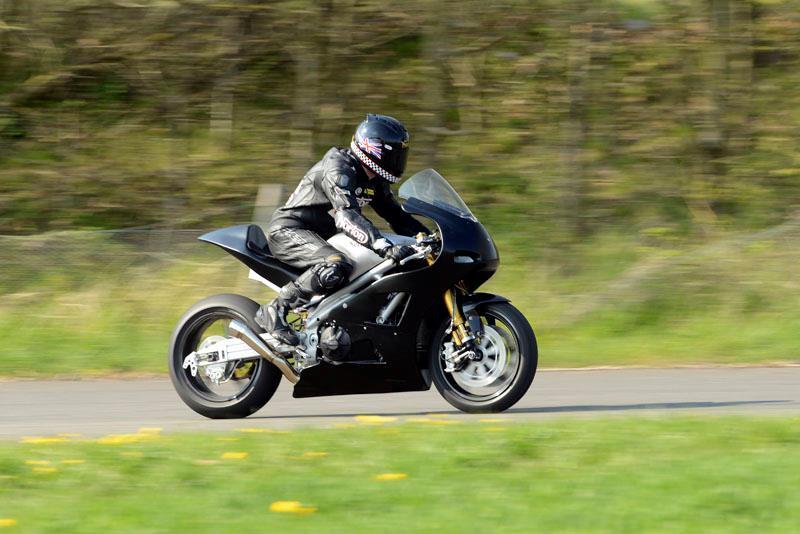 MCN exclusive on new Norton V4 TT racer